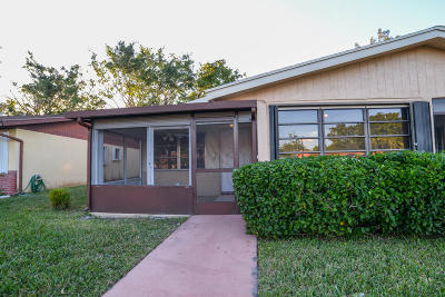 delray beach Single Family Home Contingent: 14215 Campanelli Drive
