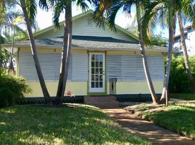 Lake Worth Single Family Home For Sale: 307 S Palmway