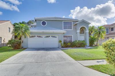 Boynton Beach Single Family Home For Sale: 8874 Spring Valley Dr