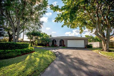 Delray Beach Single Family Home For Sale: 3706 Sherwood Boulevard