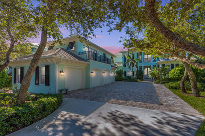 Stuart Single Family Home For Sale: 1726 NE Ocean Boulevard