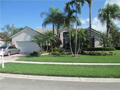 boynton beach Single Family Home For Sale: 7823 Bridlington Drive