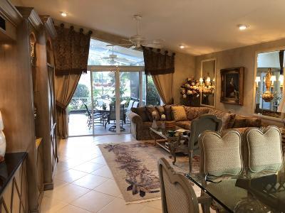 Boynton Beach Single Family Home For Sale: 6639 Malta Drive