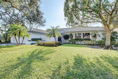Delray Beach Single Family Home For Sale: 4262 Live Oak Boulevard