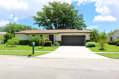 Delray Beach Single Family Home For Sale: 14592 Country Side Lane