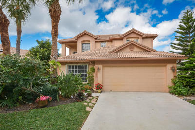 Delray Beach Single Family Home For Sale: 1181 Delray Lakes Drive