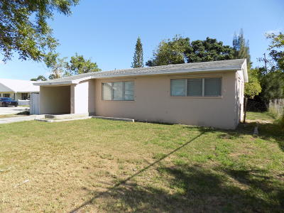 Boynton Beach Single Family Home For Sale: 2308 SE 4th Street