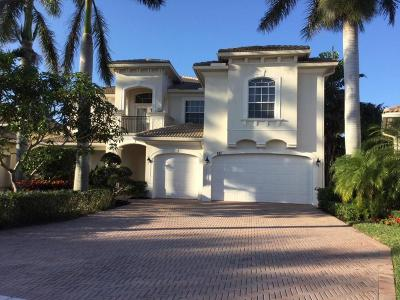 Palm Beach Gardens Rental For Rent: 521 Les Jardin Drive