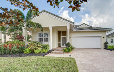 Port Saint Lucie Single Family Home Contingent: 115 NW Swann Mill Circle
