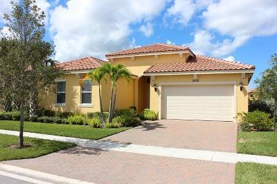 Royal Palm Beach Single Family Home For Sale: 2430 Bellarosa Circle