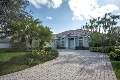 Stuart Single Family Home For Sale: 982 SW Blue Stem Way