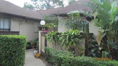 Royal Palm Beach Single Family Home Contingent: 12 Bay Cedar Court