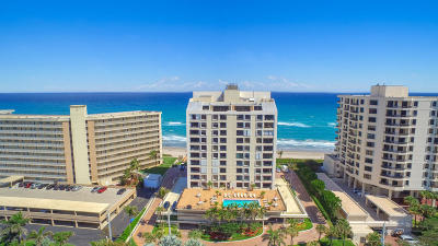 Highland Beach Condo For Sale: 3115 S Ocean Boulevard #202