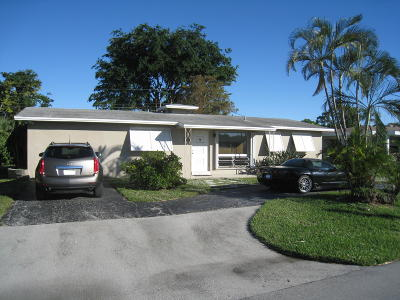 Pompano Beach Single Family Home For Sale: 4020 NE 18th Avenue