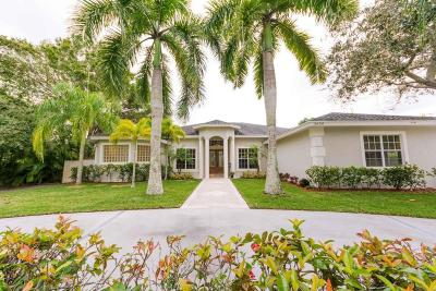Delray Beach Single Family Home For Sale: 3600 Lone Pine Road