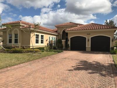 Palm Beach Gardens Single Family Home For Sale: 7668 Maywood Crest Drive