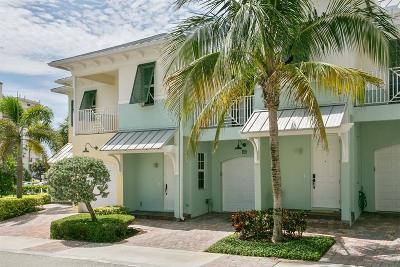 Juno Beach Townhouse For Sale: 453 Ocean Ridge Way
