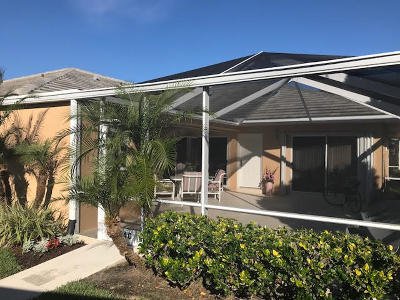 Port Saint Lucie Single Family Home Contingent: 1224 NW Sun Terrace Circle #C