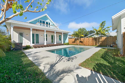 Lake Worth Single Family Home For Sale: 230 O Street