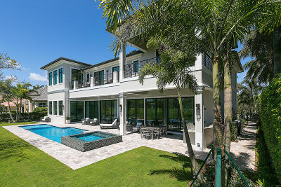 Boca Raton Single Family Home For Sale: 1744 Thatch Palm Drive