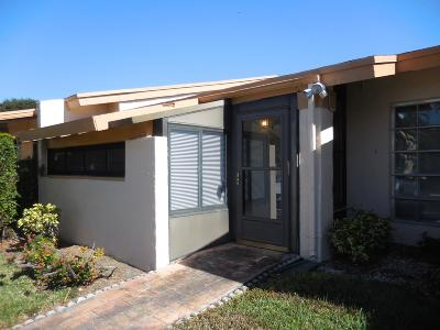 delray beach Single Family Home For Sale: 13913 Royal Palm Court #B