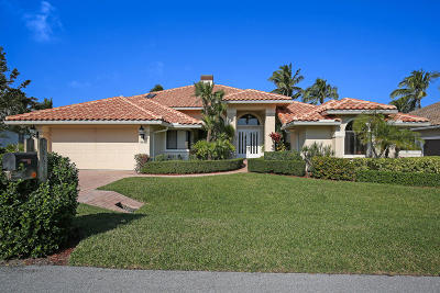 Tequesta Single Family Home For Sale: 8863 SE Water Oak Place