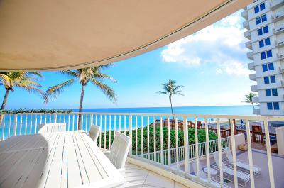 Highland Beach Condo Sold: 3211 S Ocean Boulevard #301