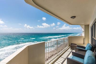 Highland Beach Condo For Sale: 4605 S Ocean Boulevard #8d