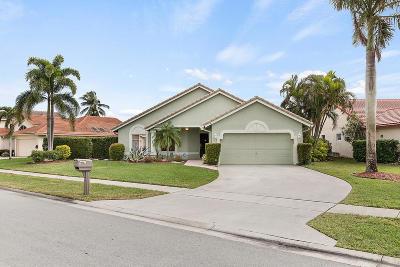 Boynton Beach Single Family Home For Sale: 5178 Rosen Boulevard