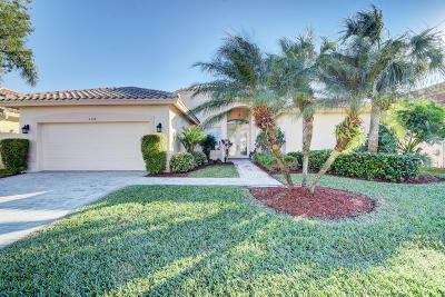 Boynton Beach Single Family Home For Sale: 6760 Catania Drive