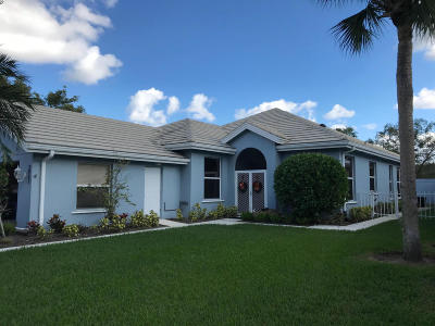 Palm City Single Family Home For Sale: 2957 SW Brighton Way