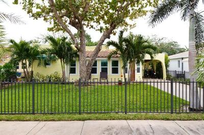 West Palm Beach Single Family Home For Sale: 244 Pilgrim Road