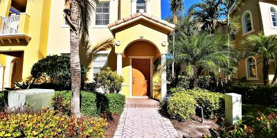 Jupiter Townhouse For Sale: 127 Seagrape Drive #201