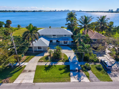 West Palm Beach Single Family Home For Sale: 3718 Shore Drive