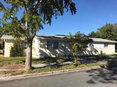 West Palm Beach Single Family Home Contingent: 2105 Beautiful Avenue