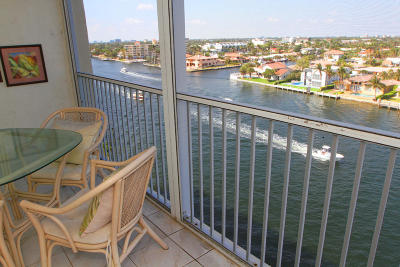 Pompano Beach Condo For Sale: 299 Riverside Drive #803