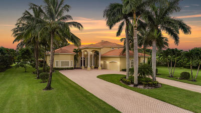 West Palm Beach FL Single Family Home For Sale: $1,049,000