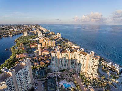 Highland Beach Condo For Sale: 3700 S Ocean Boulevard #607