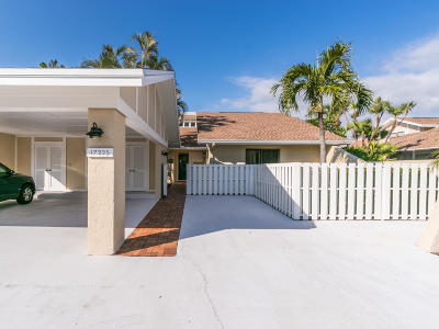 Jupiter Single Family Home For Sale: 17225 Hilliard Terrace