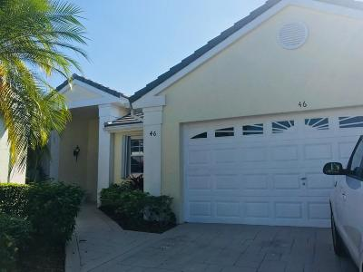 Palm Beach Gardens Single Family Home For Sale: 46 Admirals Court