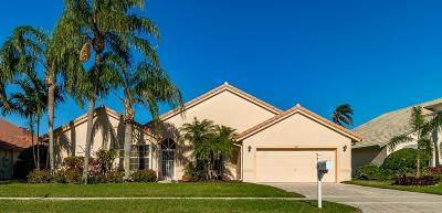 Boynton Beach Single Family Home For Sale: 6121 Hook Lane