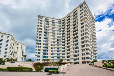 Boca Raton Condo Sold: 600 S Ocean Boulevard #806