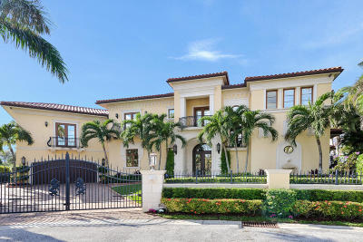 North Palm Beach FL Single Family Home For Sale: $4,699,000