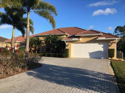 Port Saint Lucie Single Family Home For Sale: 312 SW Paar Drive