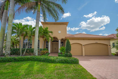 Lake Worth Single Family Home Contingent: 8788 Club Estates Way