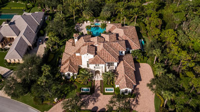 Jupiter Single Family Home For Sale: 162 Bears Club Drive