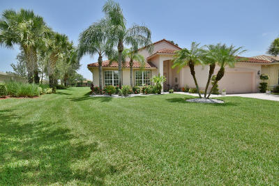 Boynton Beach Single Family Home For Sale: 8950 Torcello Way