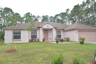 Port Saint Lucie FL Single Family Home Contingent: $244,888