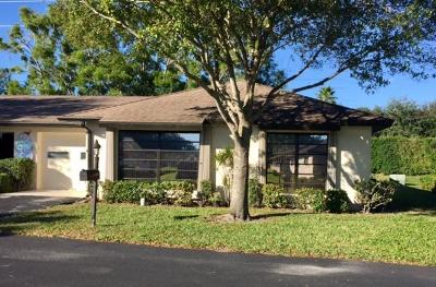 Boynton Beach Single Family Home For Sale: 4944 Equestrian Circle #B