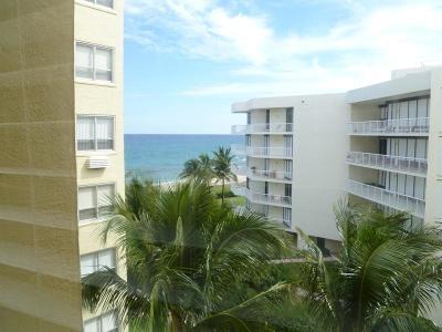 Palm Beach Condo For Sale: 2730 S Ocean Boulevard #508/512